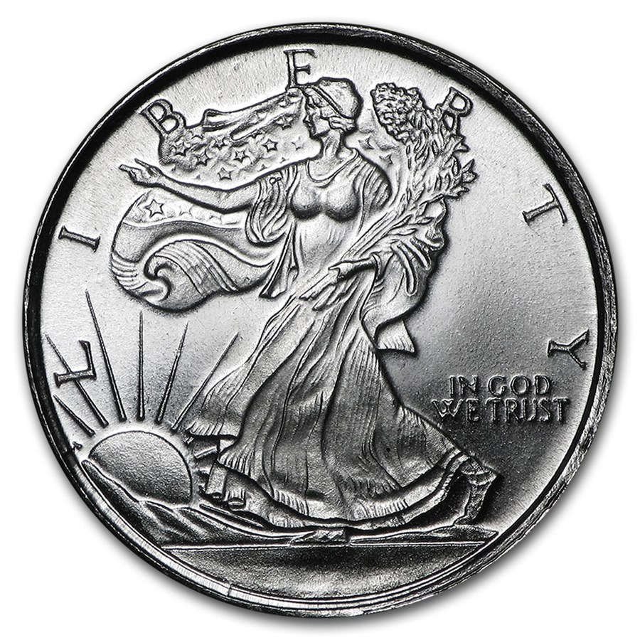 1 10 Oz Silver Round Walking Liberty Silver Prices